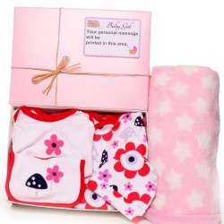Personalised Gift Box Hamper Baby Girl