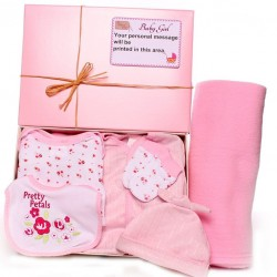 Personalised Baby Gift Box - Pretty Petals