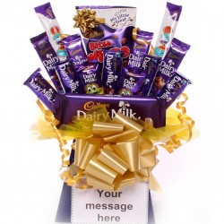 Bargain Range Cadbury's Chocolate Bouquet.