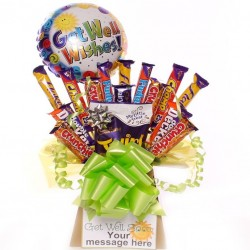 Get Well Budget Chocolate Bouquet.