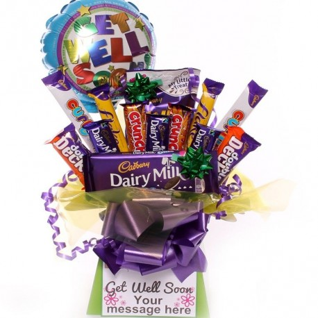 Get Well Soon Chocolate Bouquet