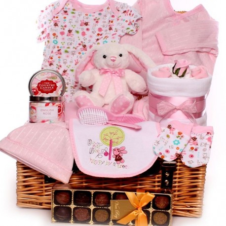 Rosie Rabbit Baby Hampers
