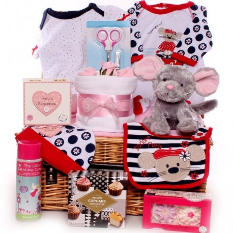 My Friend Mouse Baby Girl Hamper