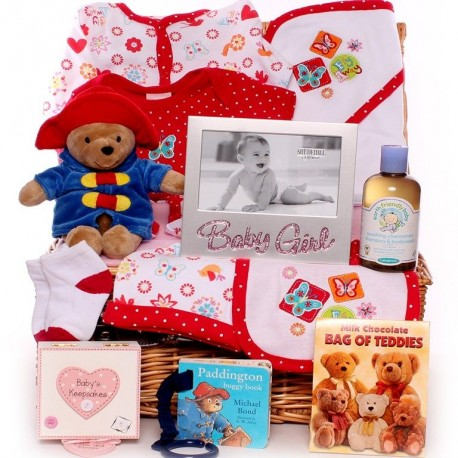 Paddington Baby Girl Hamper