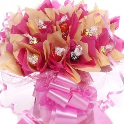 Lindor Lindt Truffles Chocolate Bouquet.