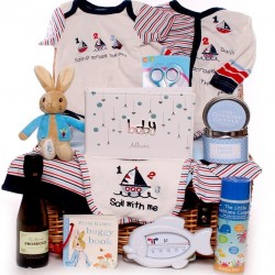 Baby Boy Gift Basket - Across The Sea