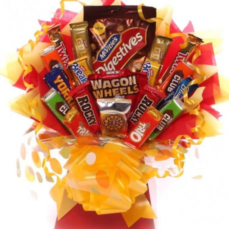 Biscuit Bouquet Ideal Get Well or Birthday Gift Idea.