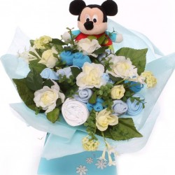 Disney Mickey Mouse Baby Clothing Bouquet baby gift