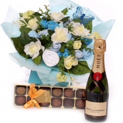 Truffles and Champagne Baby Bouquet.