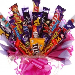 Extra Large Chocolate Bouquet For Girls.