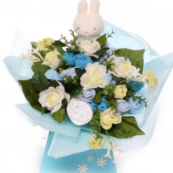 Baby Flower Clothing Bouquet-Miffy baby boy gift.