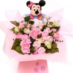 Minnie Mouse  Baby Bouquet Girl.