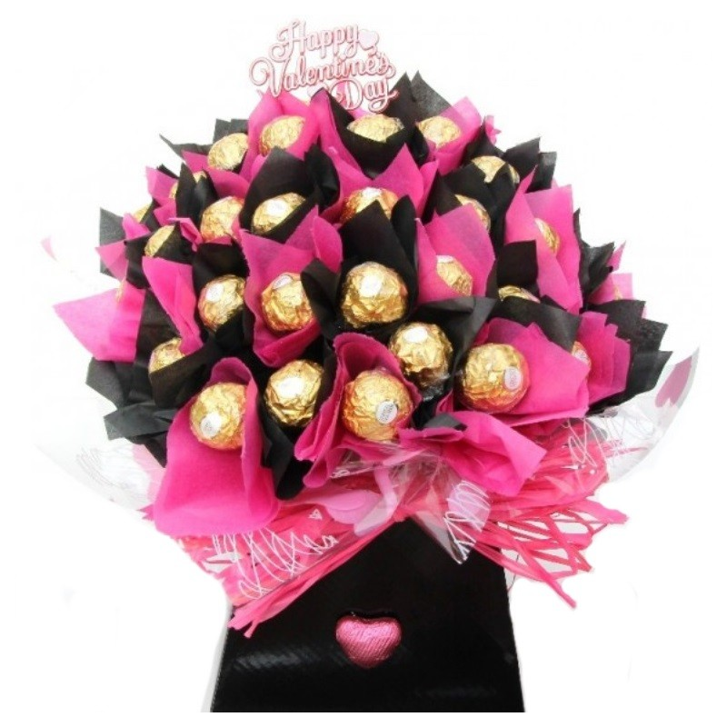 Chocolate Truffles Bouquet | Chocolate Flowers Gift Bouquet | UK ...
