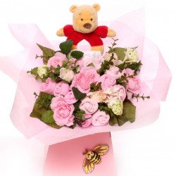 Winnie The Pooh Baby Bouquet Baby Girl.