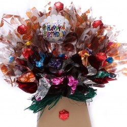 Birthday Cadbury's Roses Chocolate Bouquets