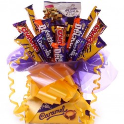 Bargain Chocolate Bouquet - Caramel Dream