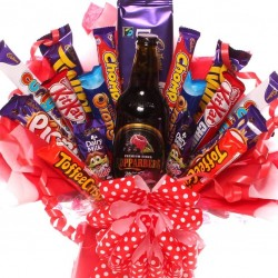 Kopparberg chocolate bouquet perfect gift idea.