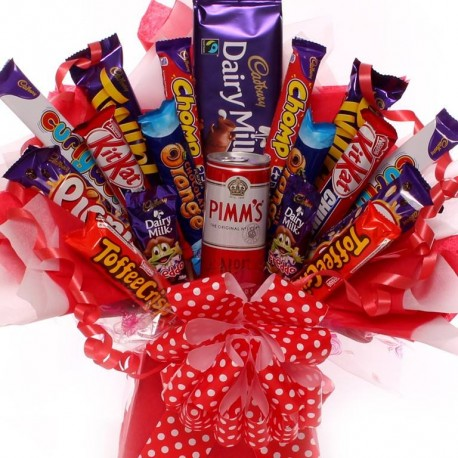 Chocolate and Pims Bouquet