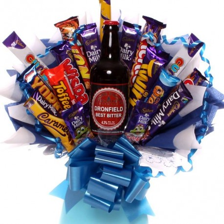 Chocolate Bouquet with Craft Beer.