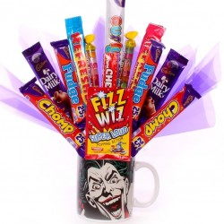 The Joker Mug with chocolate bouquet