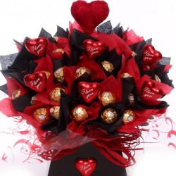 I Love You Ferrero Rocher Chocolate Bouquet.