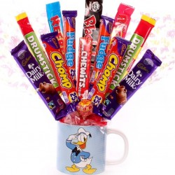 Donald Duck Chocolate Bouquet