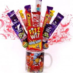 The Muppets Mug With Chocolate Bouquet