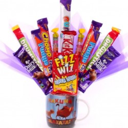 Lion King Mug With Chocolate Bouquet.