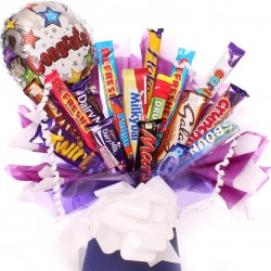 Congratulations chocolate bouquet