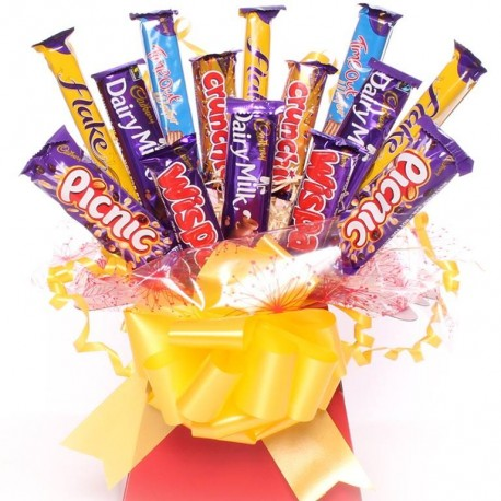 Bargain Chocolate Gift Bouquet