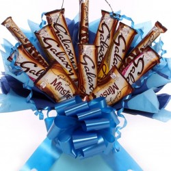 Galaxy Chocolate Bar Bouquet For Him.