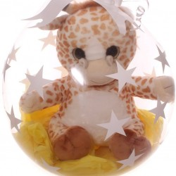 Large Soft Giraffe Toy Inside A Balloon