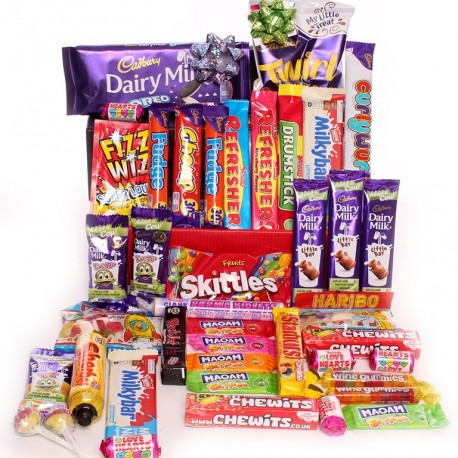 Sweet and Chocolate Hamper.