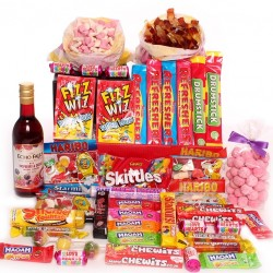 Sweet and Wine Hamper.