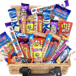 Wicker Basket Sweet Hamper