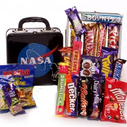 Nasa Lunch Box Filled With Sweets