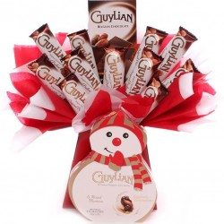 Guylian Christmas Chocolate Bouquet.