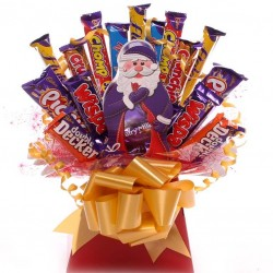 Father Christmas Chocolate Bouquet