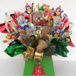 Large Traditional Christmas Chocolate Bouquet.