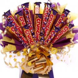 Crunchie  Chocolate Bar Bouquet.