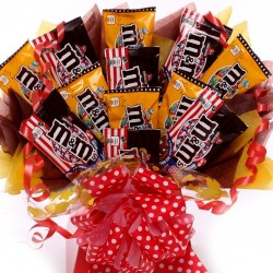 M and Ms Chocolate Bouquet.