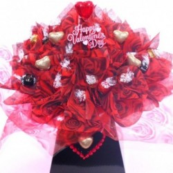 Valentine's Day Luxury Lindor Chocolate Bouquet