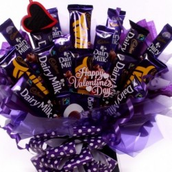 Valentine Cadbury Chocolate Bouquet.