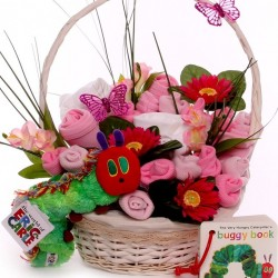 The Hungry Caterpillar Baby Bouquet Basket.