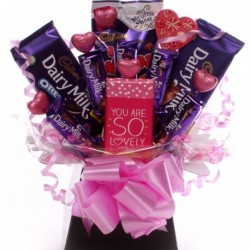 You Are So Lovely Chocolate Bouquet.