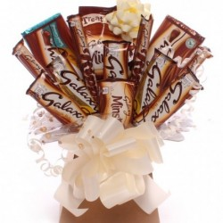 Galaxy Chocolate Bouquet - Cream