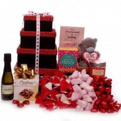 Prosecco Love You Gift Tower.