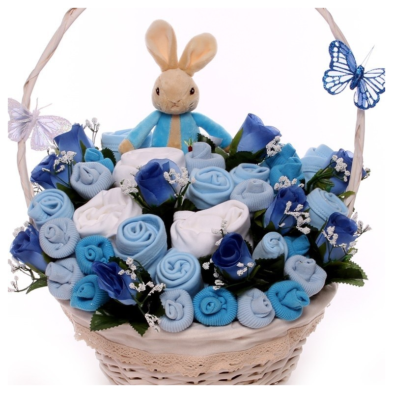 Baby Bouquet With Peter Rabbit Toy Luxury Baby Clothing