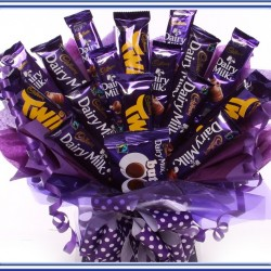 Chocolate Bar Bouquets