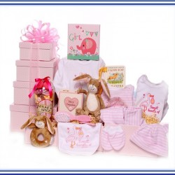 Baby Gift Tower Hamper